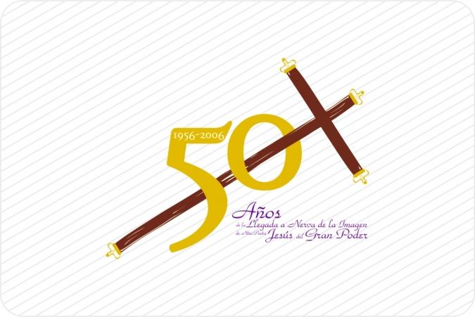 Logotipo 50 Años del Gran Poder en Nerva