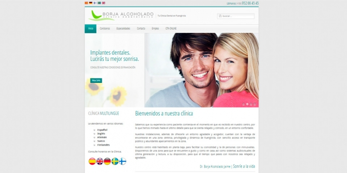 Web Borja Alcoholado Dental