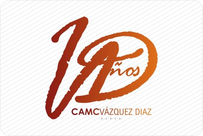 Logotipo Aniversario CAMC Vázquez Díaz