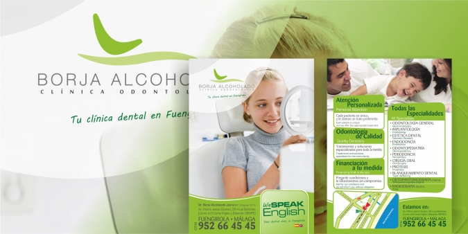 Folleto Borja Alcoholado Dental