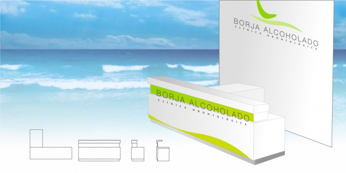 Mostrador Borja Alcoholado Dental