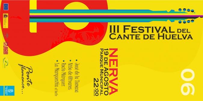 Cartel Festival Cante de Huelva