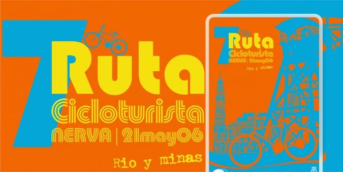 Publicidad Ruta Cicloturista Nerva