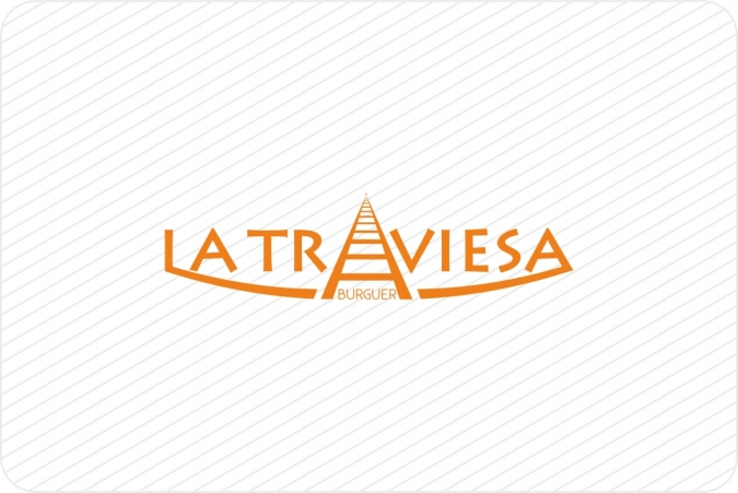 Logotipo La Traviesa Burguer